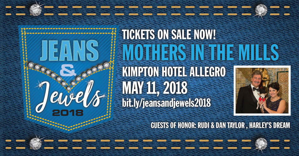 <b>Join us at the 2018 Mothers in the Mills gala, with a