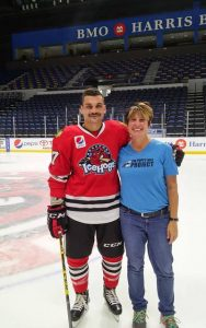 IceHogs Pucks and Paws
