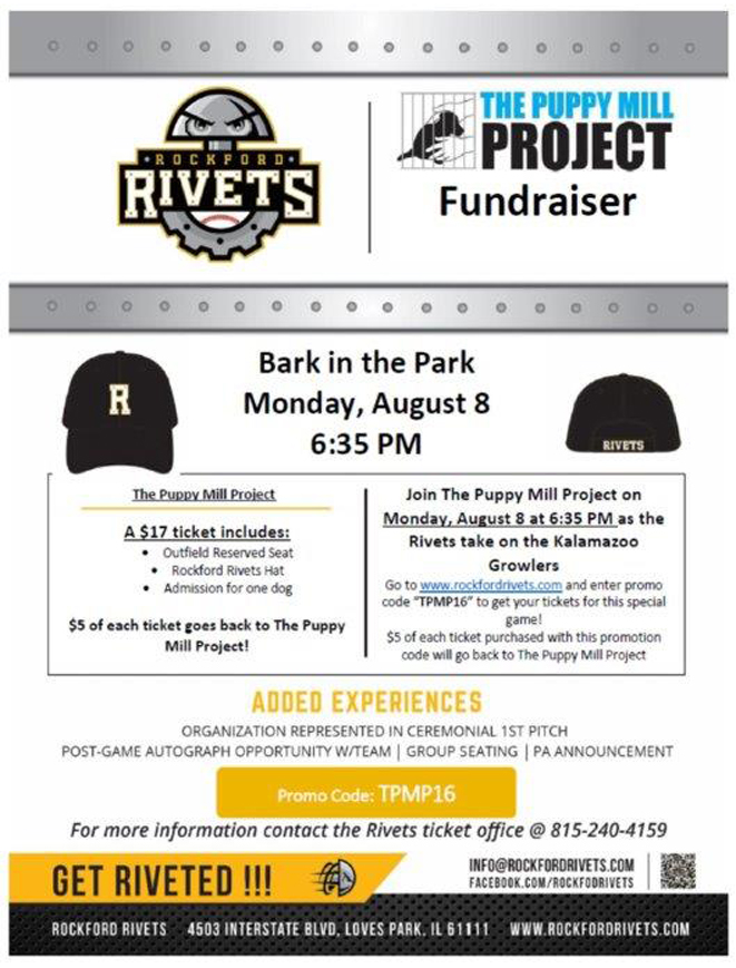 The Puppy Mill Project – Bark in the Park