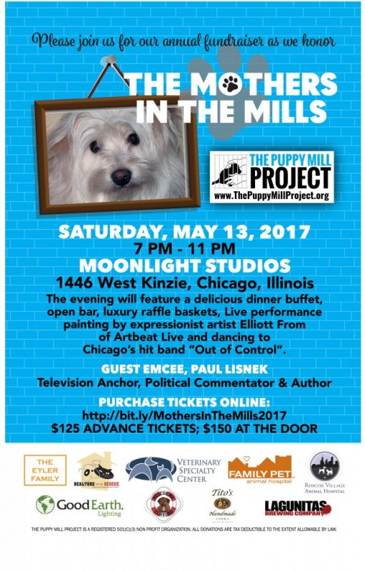 Mothers in The Mills Benefit for The Puppy Mill Project